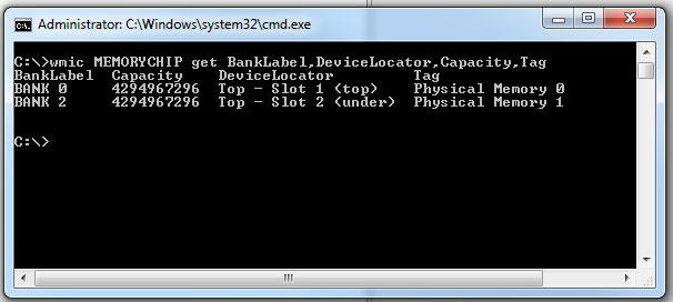 Get Memory Configuration