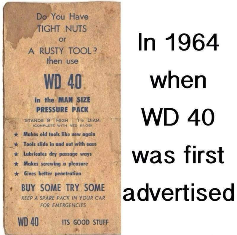 WD 40 Good Stuff