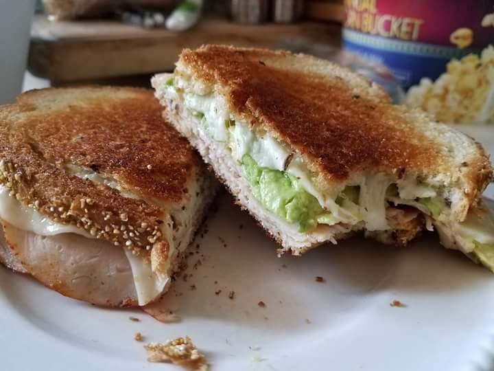 Turkey Avocado Samich