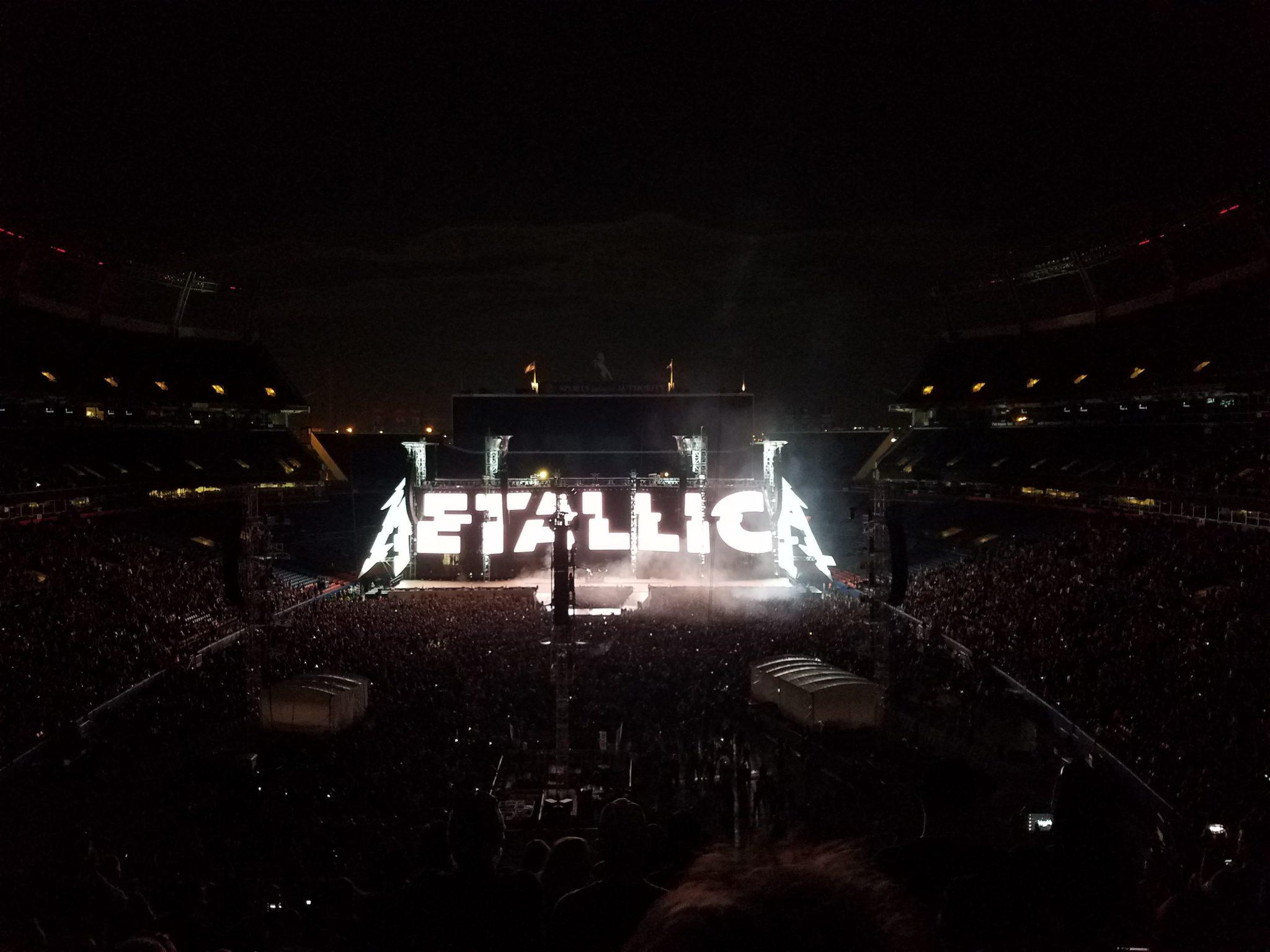Metallica In Denver