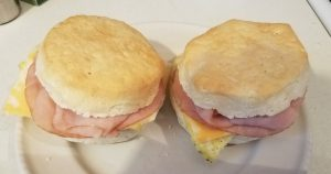 Just a quick egg Samich