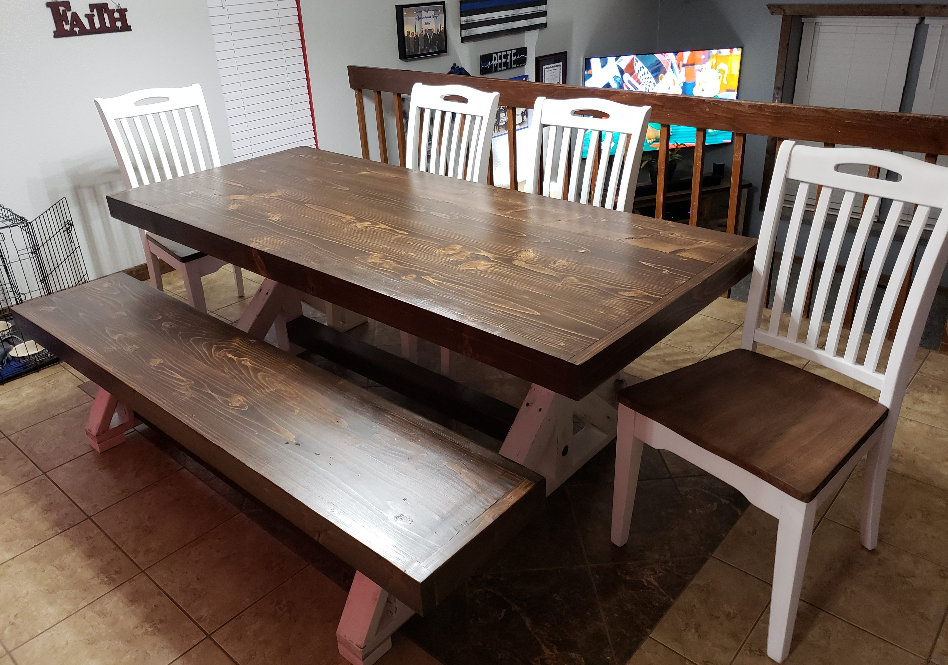 Custom Farmhouse Table